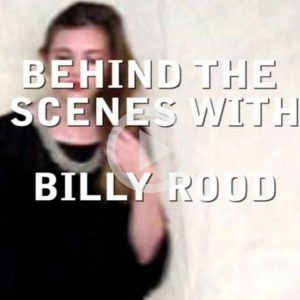 entre bastidores: Billy Rood