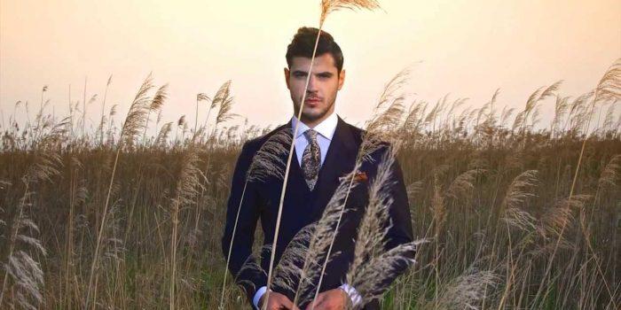 Herren Anzüge Fashion Fotoshooting