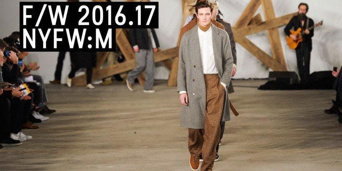 Billy Reid herbst/Winter 2016-17