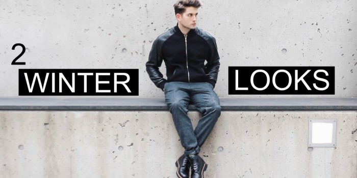 Männer Fashion Winter 2016 Lookbook