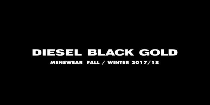 DIESEL BLACK GOLD – Herbst-Winter 2017- Milan Fashion Week