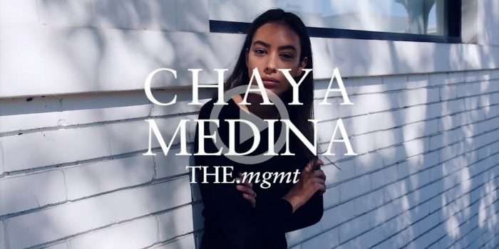 CHAYA MEDINA pour THE.mgmt