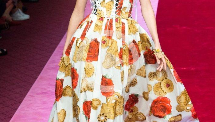 Dolce & Gabbana Frühling-Sommer Modenschau 2018