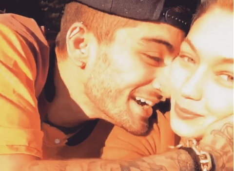 Beautiful and Romantic. The birthday greetings from Gigi Hadid to Zayn