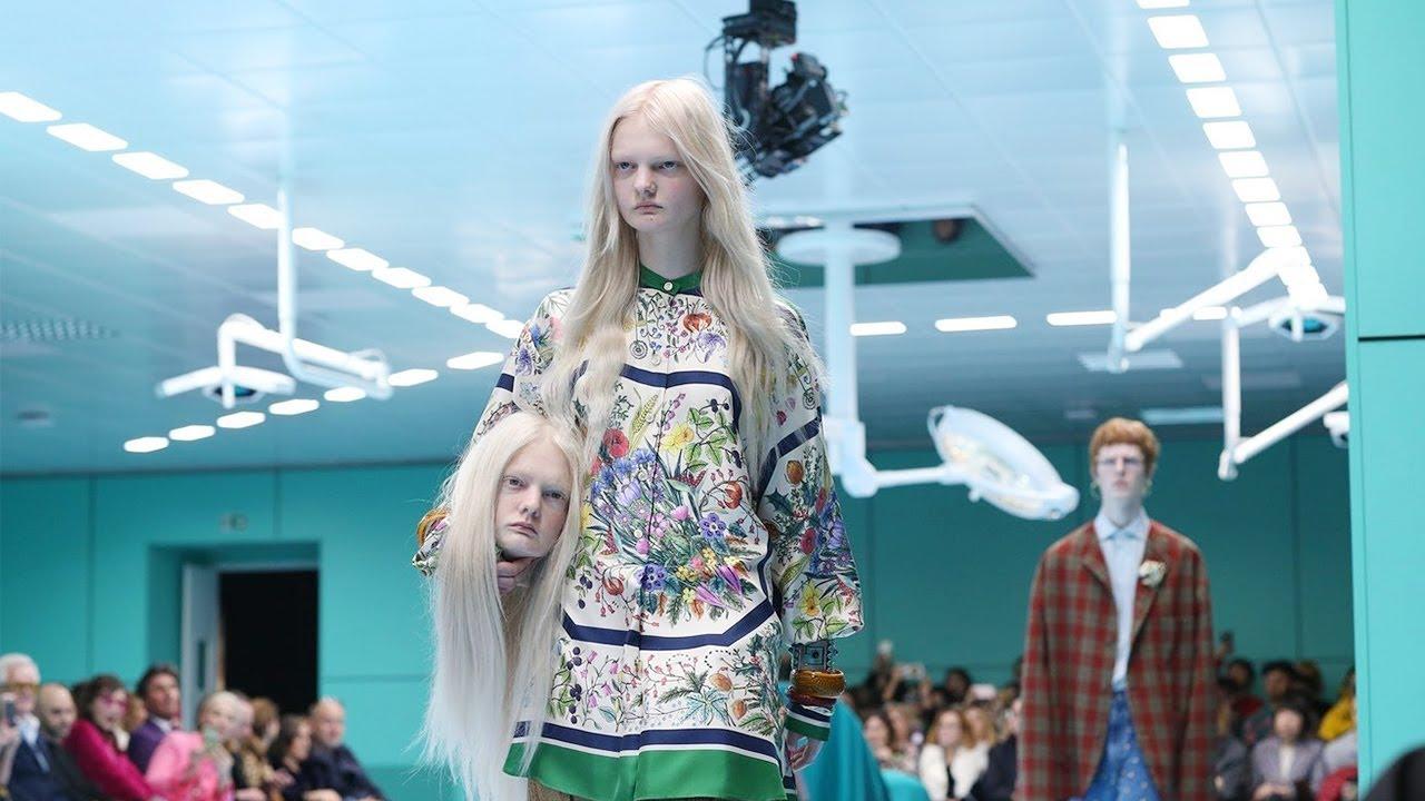 Gucci | automne hiver 2018/2019 Voir Full Fashion | à l'exclusion