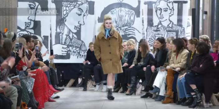 "<span lang =""en"">Miu Miu brings back the 60s at Paris Fashion Week</span>"