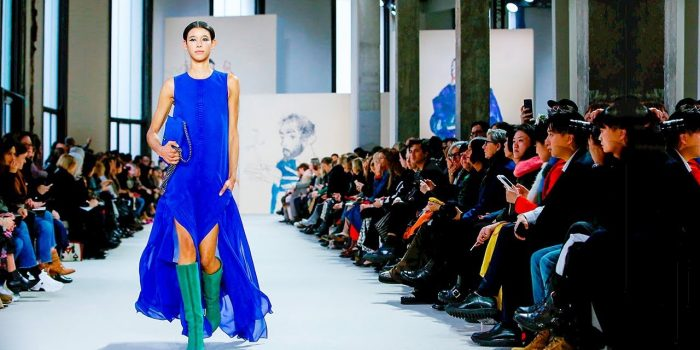 Akris, a collection for unstoppable women at Paris Fashion Show