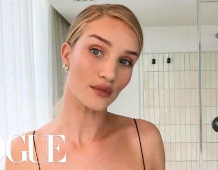 Rosie Huntington-Whiteley shares her beauty secrets