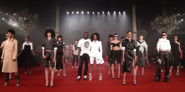 """""""SS2018 Off White"""" Lady Diana Tribute by Virgil Abloh"""