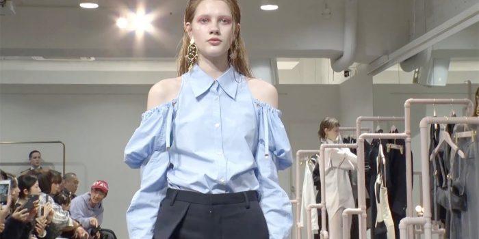 Akikoaoki an unusual Japanese designer at Tokyo Fashion Week