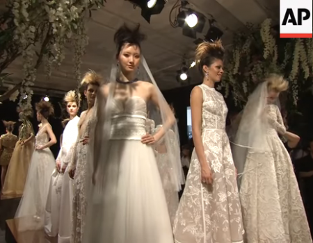 Naeem Khan rock-star Bridal Collection