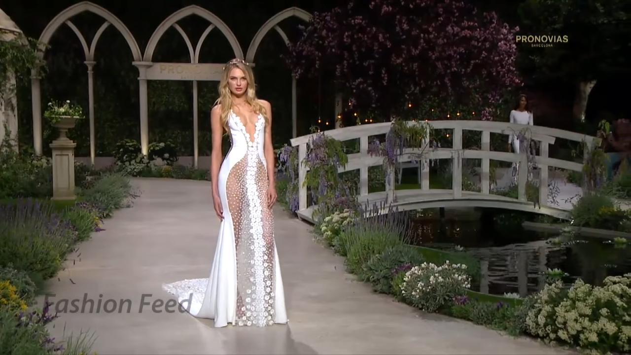 """""""In Bloom"""" La collezione Sexy Pronovias sposa 2019"""
