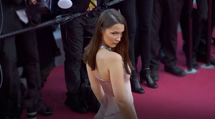 Bella took over the red carpet at the Cannes Fest 2018