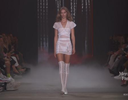 SONO. GIA pista Debutto alla Mercedes Benz Fashion Week in Australia