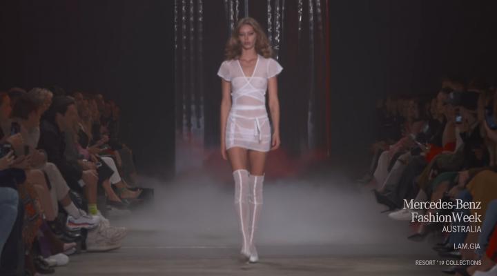 I.AM. GIA Runway Debut at Mercedes Benz Fashion Week in Australia