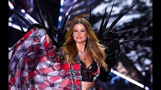 Victoria's Secret Angel Behati Prinsloo returns to the catwalk and shares a photo of her family