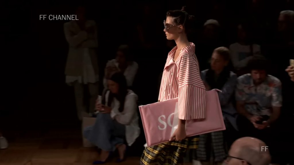 Screenshotter SwedishSchoolofTextilesSpringSummer2019Exclusive 0'19""