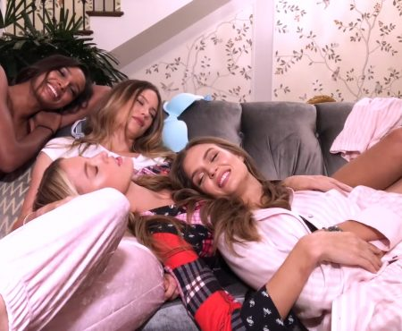 "<span lang =""en"">The Victoria's Secret Angels Sleepover at The Plaza Hotel</span>"
