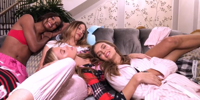 The Victoria's Secret Angels Sleepover at The Plaza Hotel