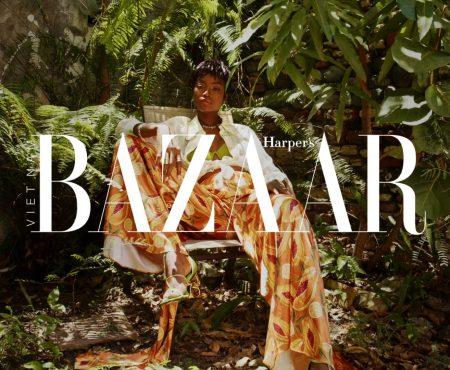 Maria Borges Harper's Basar Vietnam